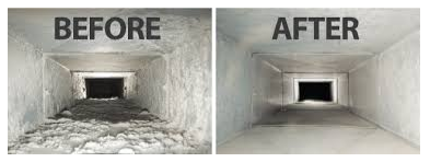 Duct Cleaning: Before and After
