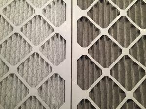 air filters blocked by dirt